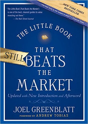 """The little book that beats the market"""