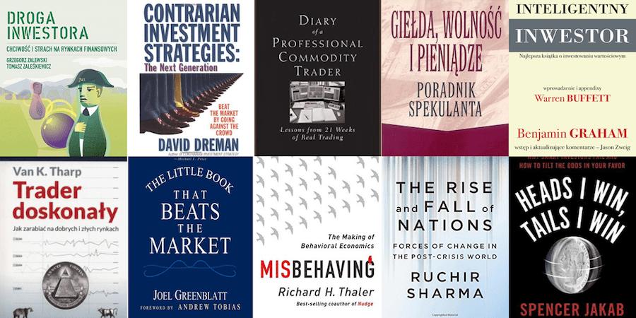 Najlepsze książki oinwestowaniu