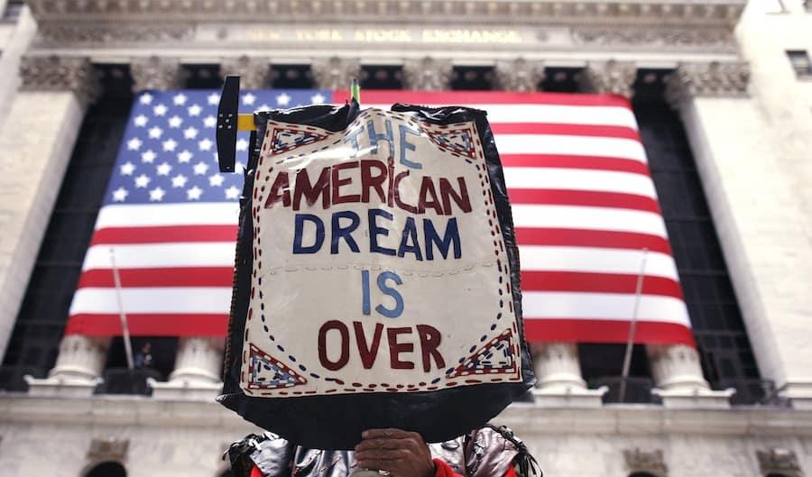 Koniec amerykańskiego snu